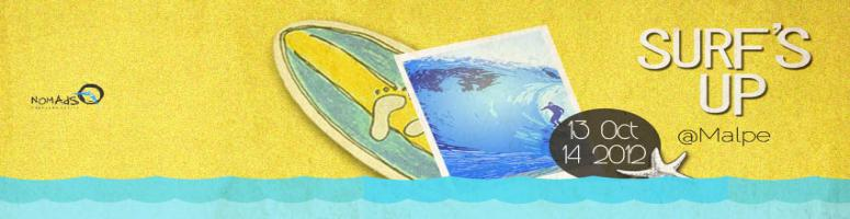 """Book Online Tickets for Surfs Up !, Bengaluru. """"Surfing is very much like making love. It always feels good, no matter how many times you've done it"""" Paul Strauch  Surfing is not a sport. It is a way of life !  Wouldn't waste time introducing you to the his"""